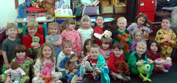 Pajama Day Sussex Wantage Pre School